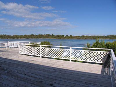 deck outside restaurant